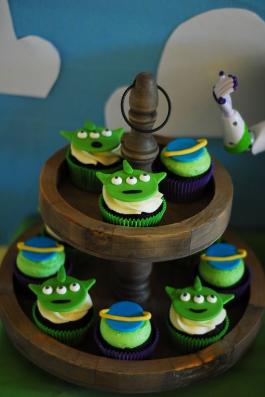 Toy Story Cupcakes - Kristen's Sweet Treats