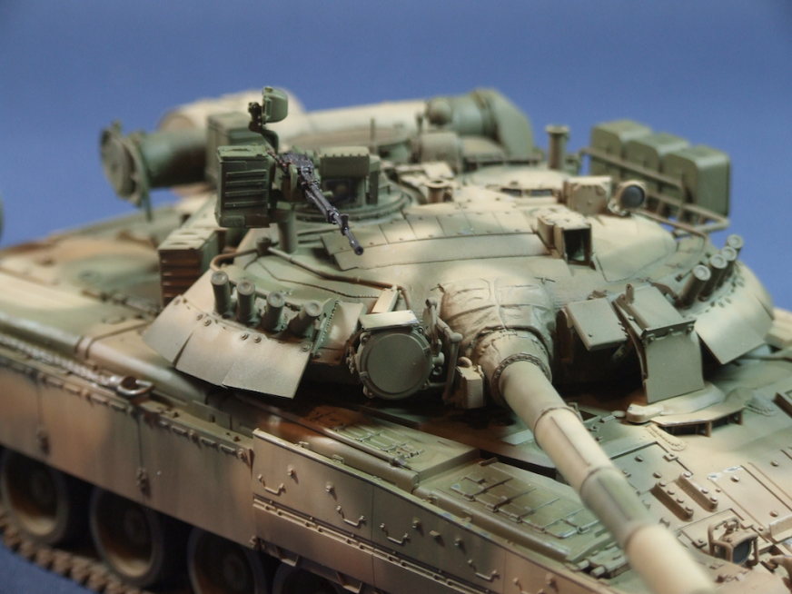 1/35 Xact Scale T-80U - Ready for Inspection - Armour - Britmodeller