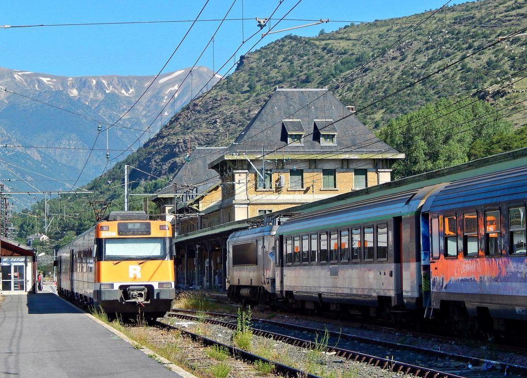 La Tour De Carol Tren Antiguo Tren Fotografia