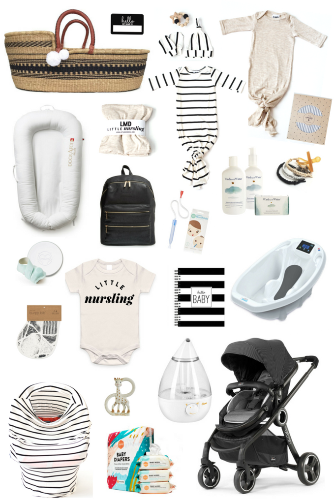 New Baby Modern Essentials New Baby Products Newborn Essentials Checklist Modern Baby