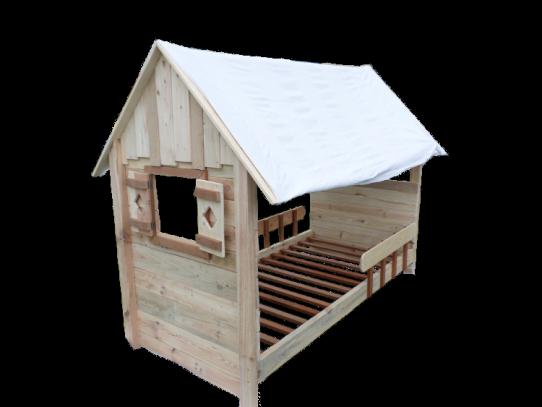 lit cabane enfant en bois de palette objet et meuble en palette chambre enfants. Black Bedroom Furniture Sets. Home Design Ideas
