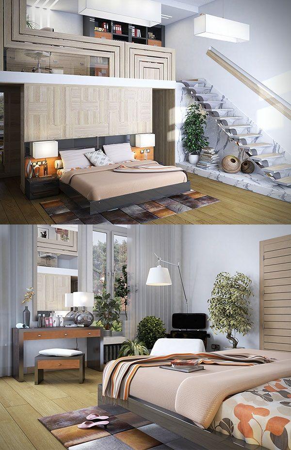 Cool Interior Design Idea Minimal Studio Flat