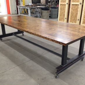The Glenn Industrial Conference Table By Sean Dineen