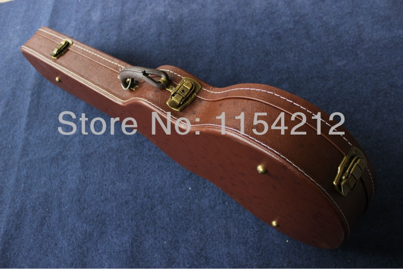 80.00$  Buy here - http://ali4vo.worldwells.pw/go.php?t=1677885100 - G shop hardcase for L-p electric guitar,Electric Guitar Brown/Black Hardcase Not sell separately ,Sale with guitar together!