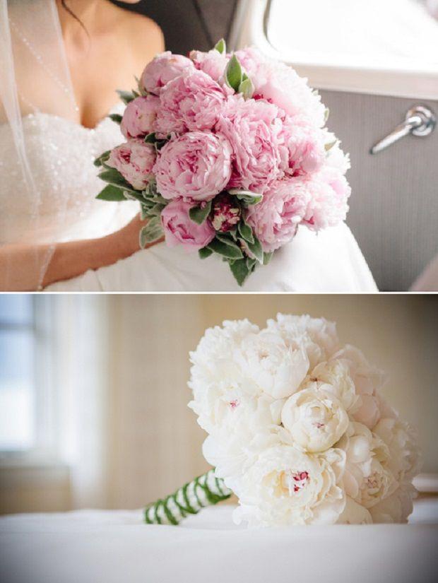 Romantyczne Piwonie Flower Bouquet Wedding Wedding Flower Arrangements Elegant Wedding Bouquets