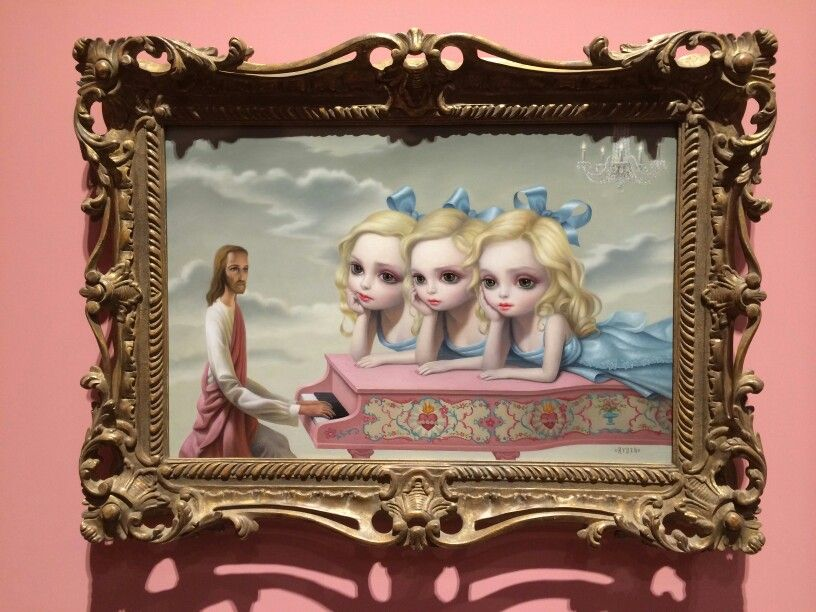 """"""" The Piano Player """"   Mark Ryden"""