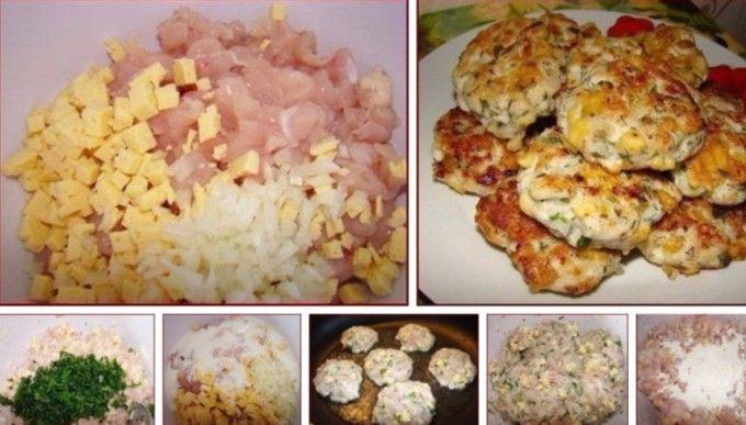 Hähnchen Joghurt Käse Frikadellen | Rezept | Rezepte