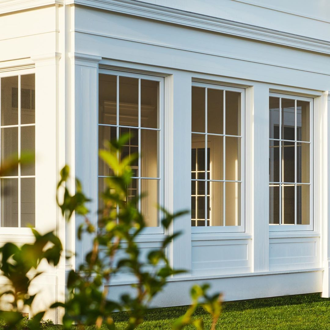 Hendricks Churchill On Instagram Screen Porch Of Our Oblong Valley Greek Revival Project The Divided Sash Is Actual In 2020 Greek Revival Screened Porch Double Hung