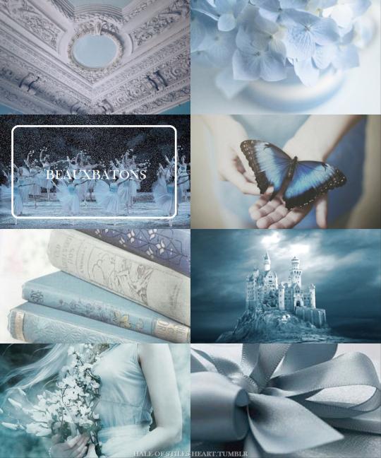 Wizarding Schools Aesthetics