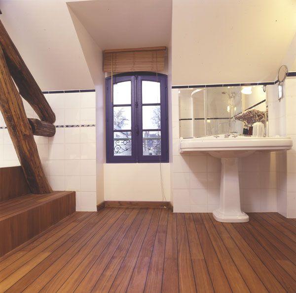 Parquet-Salle-de-bain-EmoisetBois-01 Appart Pinterest