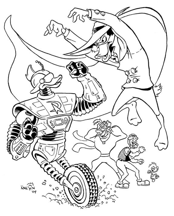 Darkwing Duck Fairy Coloring Pages Fairy Coloring Coloring Pages
