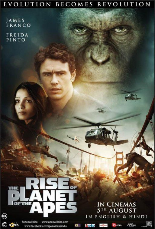 The Rise of the Planet of the Apes. for my friends from Canterbury! Love Ty Olsen :)