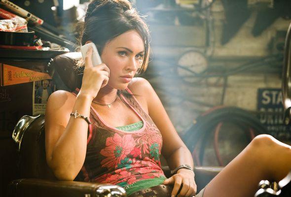 Wallpaper Megan Fox Girl Brunette Actress Transformers