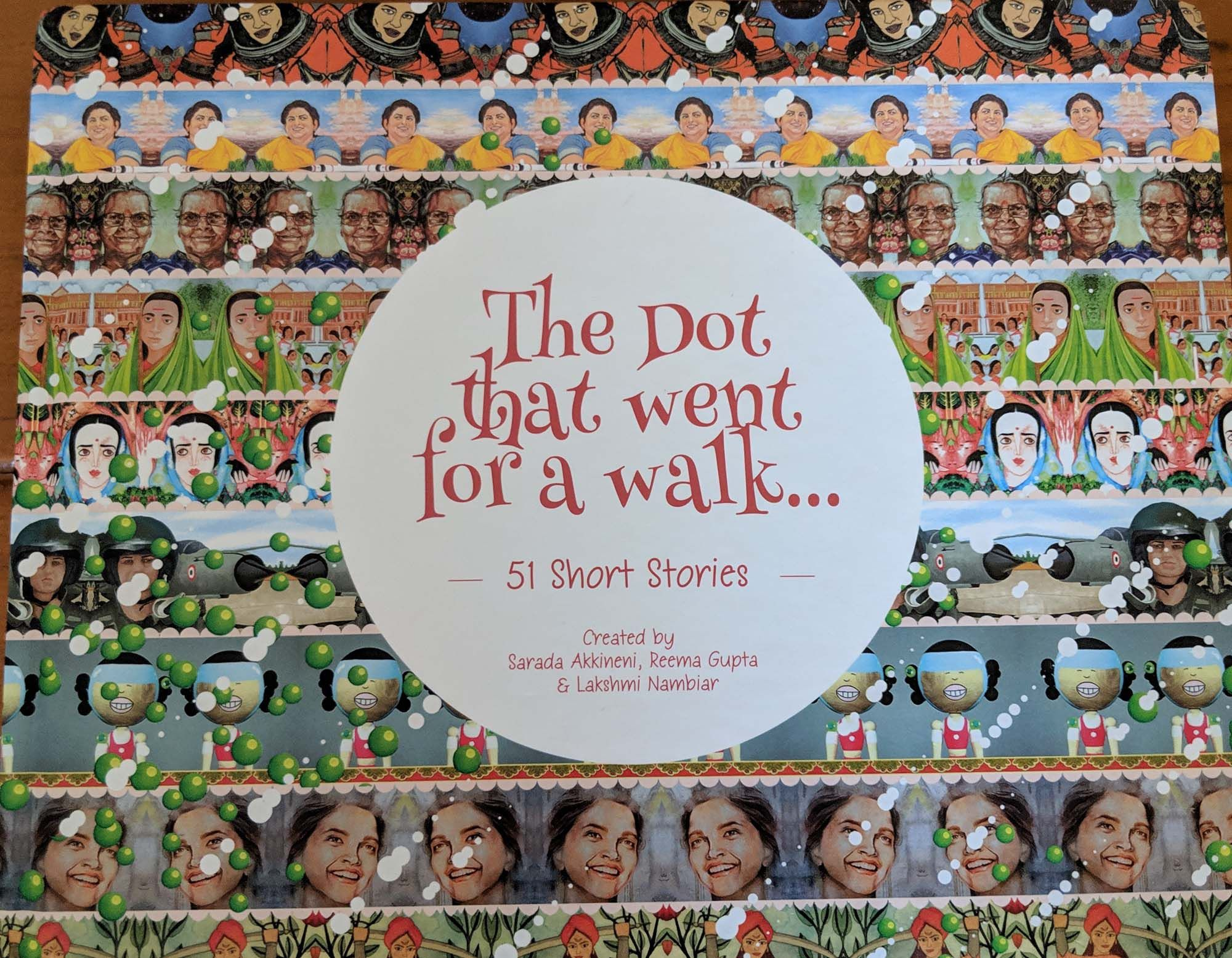 The Book Is Titled The Dot That Went For A Walk