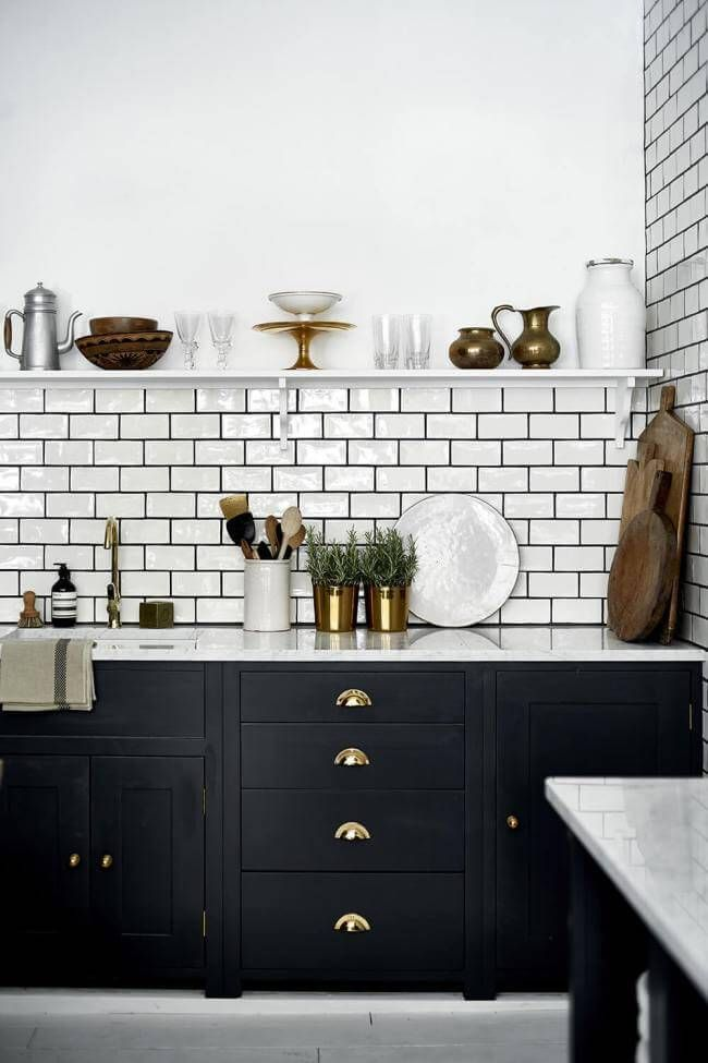 20 Most Popular Kitchen Cabinet Paint Color Ideas (Trends for 2019) #newkitchencabinets
