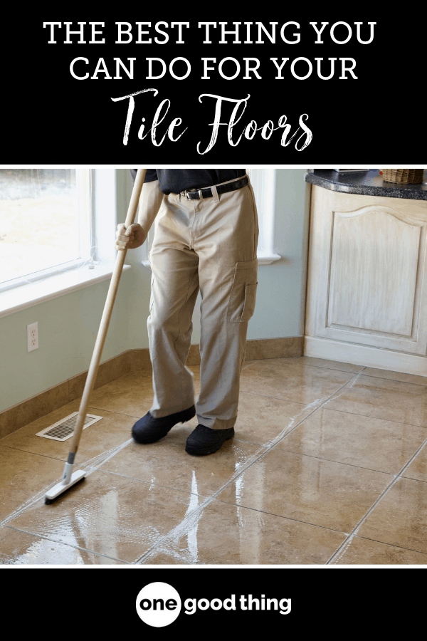 This Is The Best Thing You Can Do If You Have Tile Floors Tile Floor Tile Floor Cleaner Cleaning Tile Floors