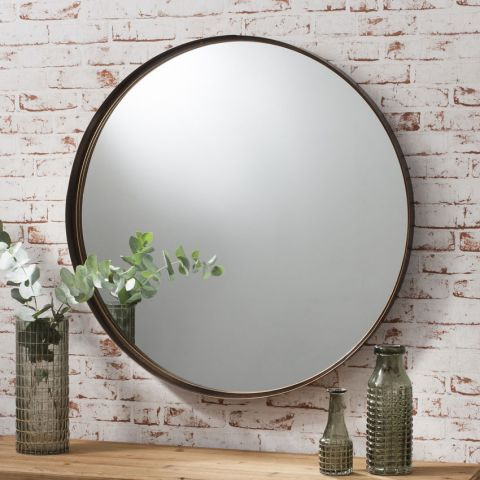 Gallery Direct Greycourt 84cm Mirror Next Day Delivery From Worlds Everything For The Home