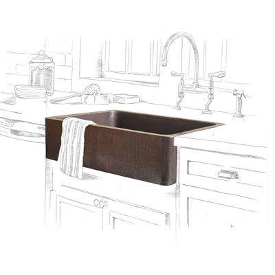 adam 33 l x 22 w farmhouse apron kitchen sink kitchen kitchen rh pinterest com