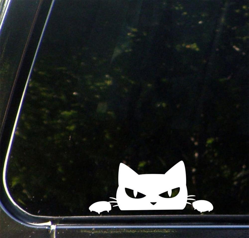 Car Angry Cat Peeking Over Vinyl Car Decal Sticker Etsy Car Decals Vinyl Car Decals Cat Decal [ 954 x 1000 Pixel ]