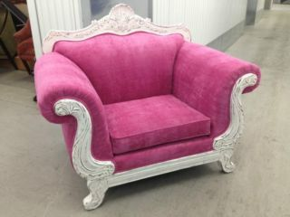 beautiful shabby chic french pink Armchiar in Morden, London   Sofas, Armchairs, Couches & Suites for Sale   Gumtree.com