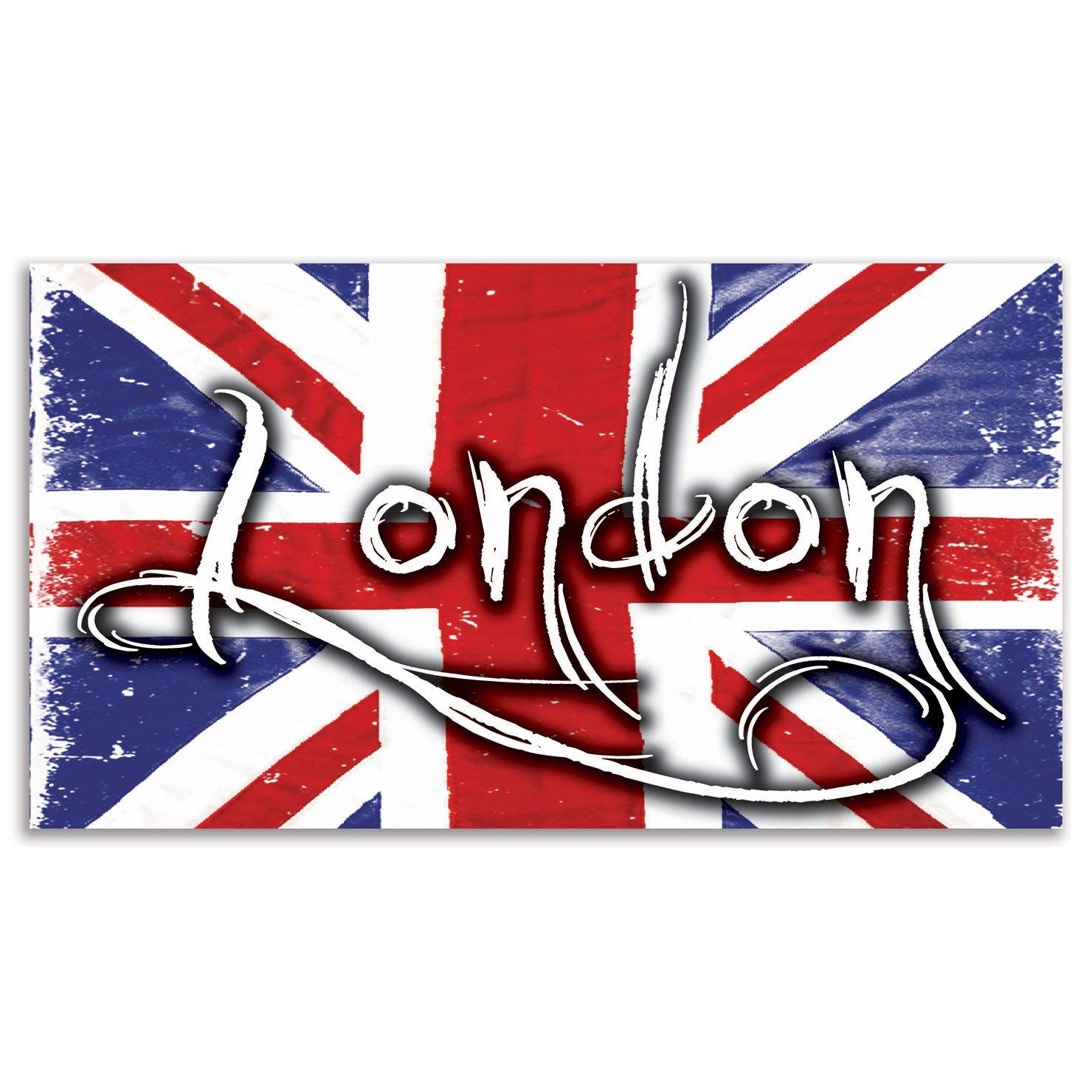 ACHICA | Brilliantly British Signs London, Available in Large and Medium