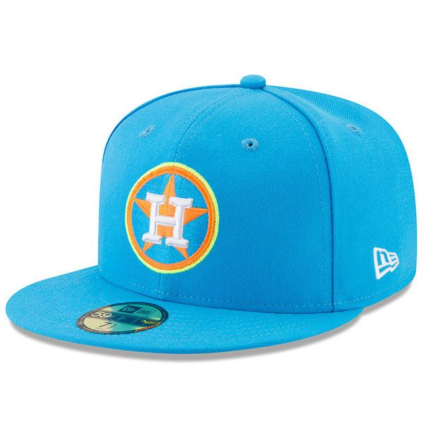 4ed86e6d12c Men s Houston Astros New Era Blue 2017 Players Weekend 59FIFTY Fitted Hat