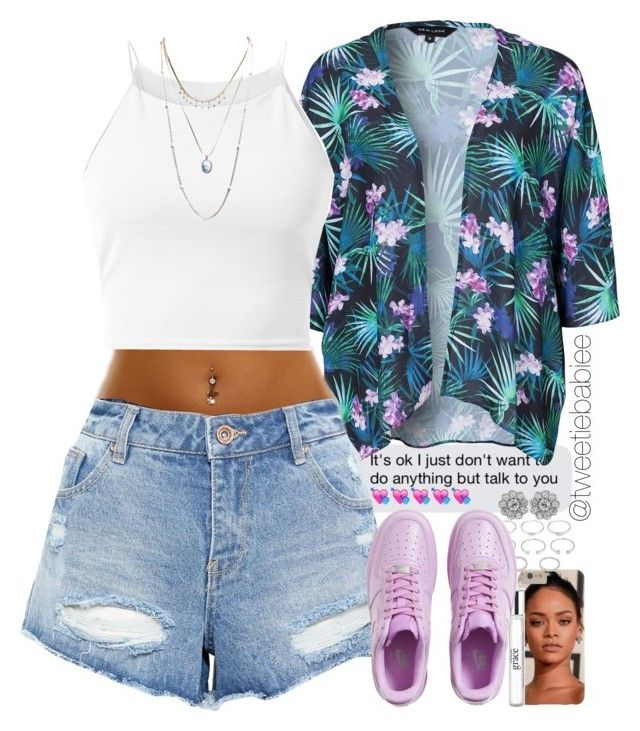 """""""we got purple activist i thought it was a drought"""" by tweetiebabiee ❤ liked on Polyvore featuring philosophy, Forever 21, New Look, Parisian, NIKE and Wet Seal"""