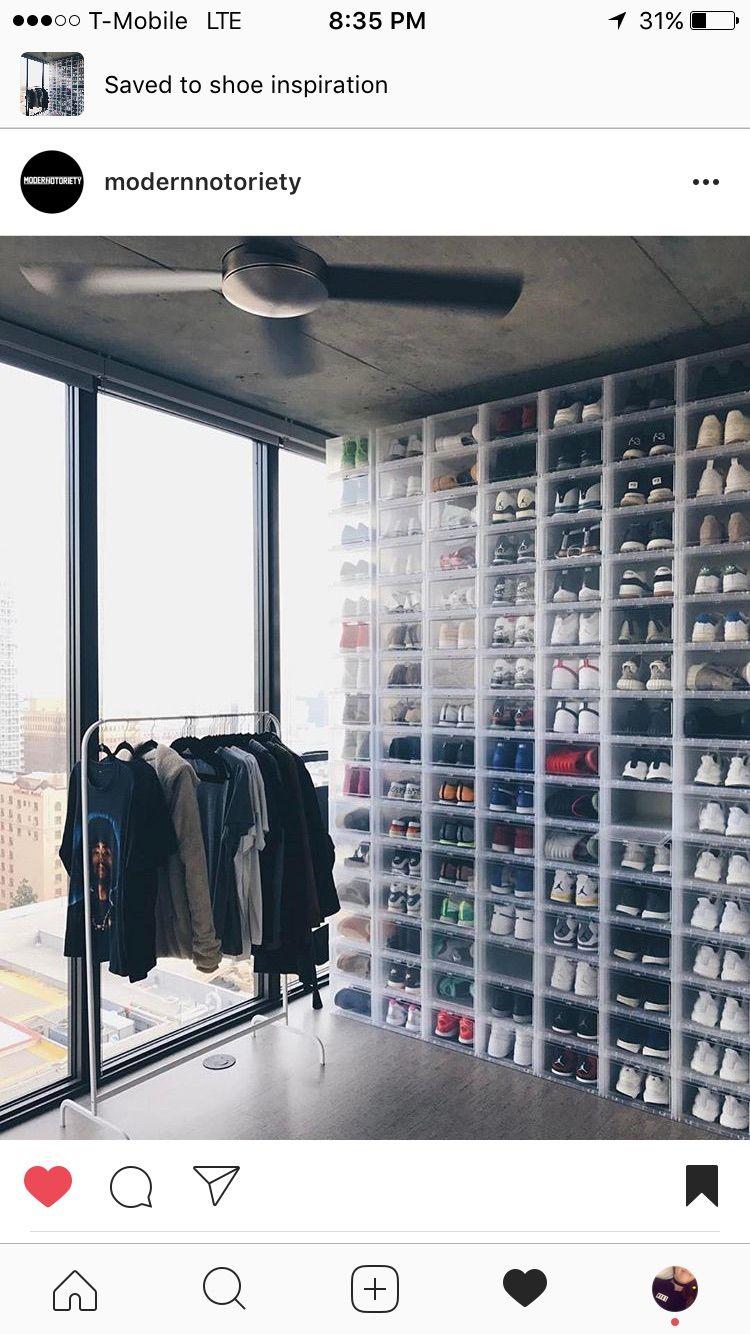 Sneaker Storage Shoe Storage Hypebeast Room Shoe