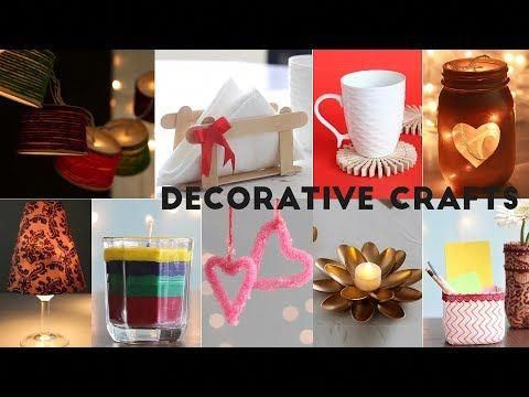 Home decorative craft ideas unbelievably helpful diy youtube papercrafts also rh pinterest