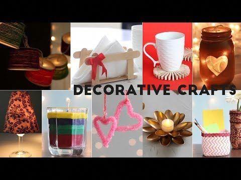 Home decorative craft ideas unbelievably helpful diy youtube papercrafts also rh pinterest