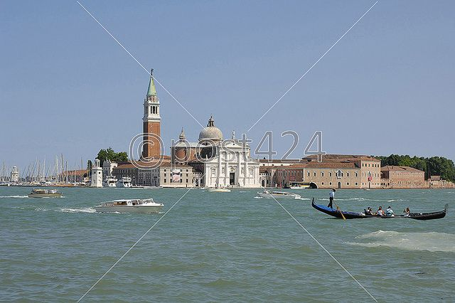 San Giorgio Maggiore island and Basilica, Venice, Italy