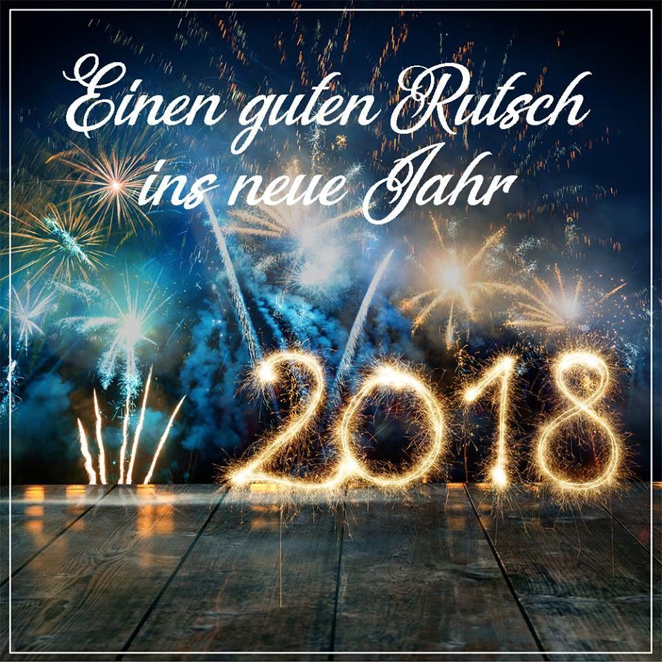 Tschüss 2017, hallo 2018! Herzlichen Dank für das Vertrauen, das Sie ...