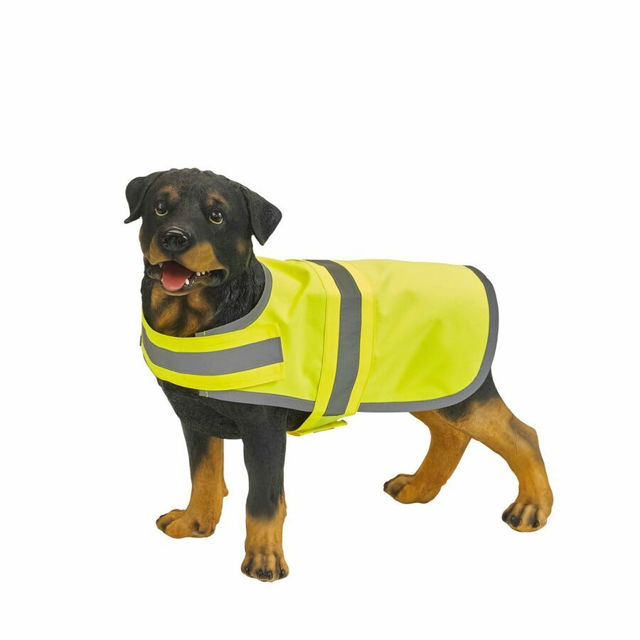 Details About Dog High Visibility Safety Jacket Vest Walking Coat