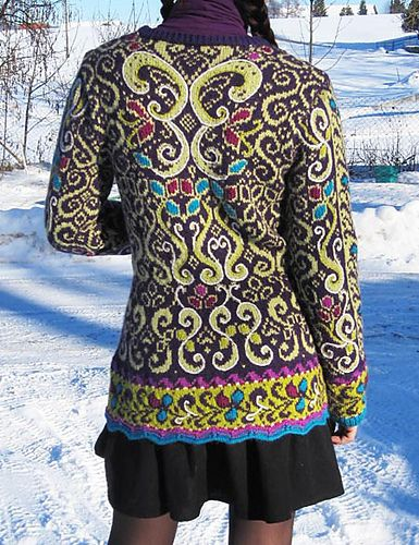 My absolute fave pattern ...I love this pattern in many color ...