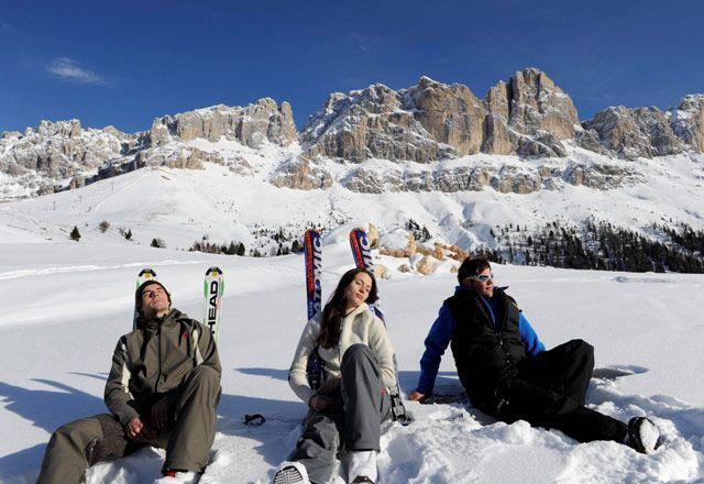 Skiing holidays in Nova Levante