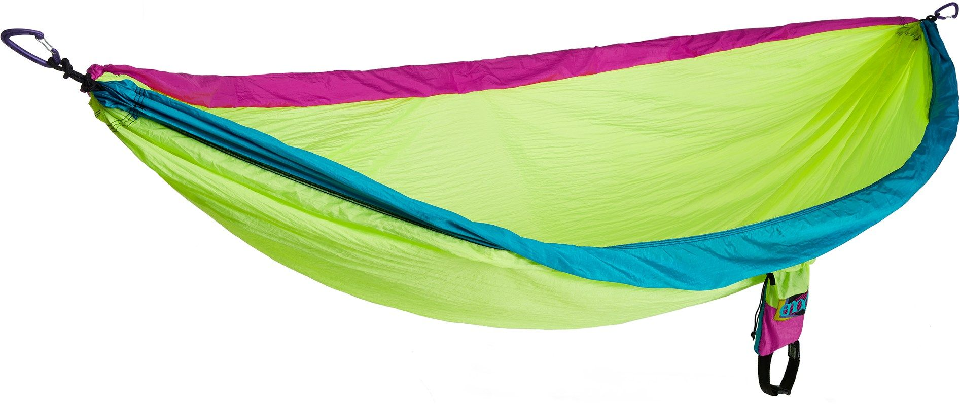 Return To Your Camp Home With A Colorful Hammock Beach