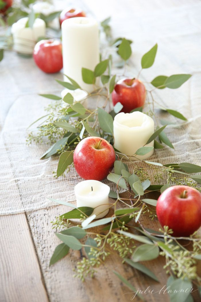 outdoor wedding decoration ideas for fall%0A Easy Entertaining and an Effortless Fall Table