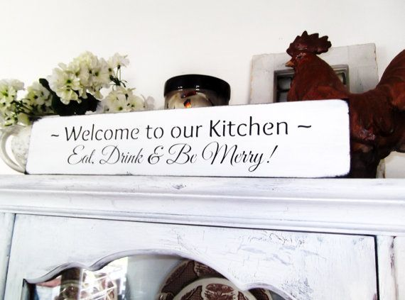 art for the kitchen eat drink be merry welcome to our kitchen rh pinterest com