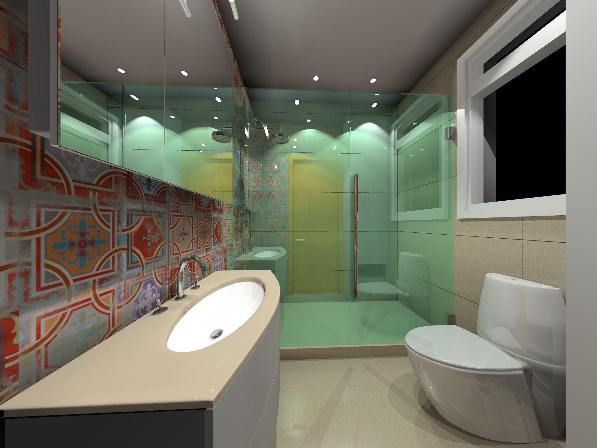 3d Design Bathroom Cuarto de