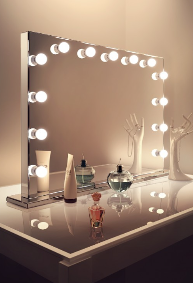 Mirror Finish Hollywood Vanity Dressing Room Mirror Hollywood Mirror With Lights Makeup Vanity Mirror With Lights