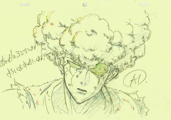 #Dessin coupe afro du cyborg Genos #OnePunchMan episode 3