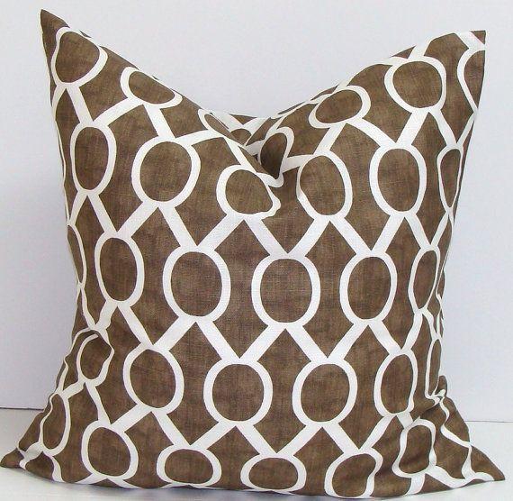 26X26 Pillow Insert Brown Euro Pillow26X26 Inchpillowelemenopillows On Etsy