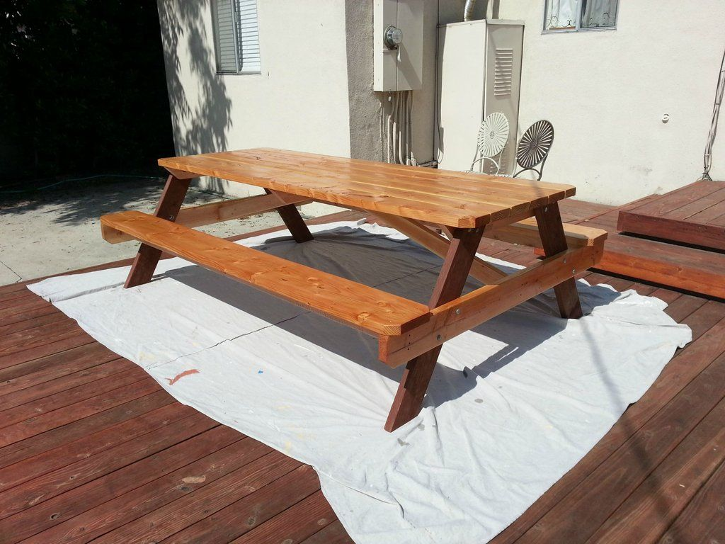Building a Picnic Table cheap and looks