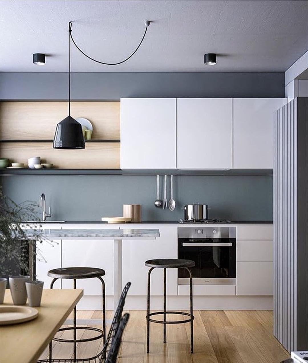 Beautiful modern kitchen designed by Neometro via