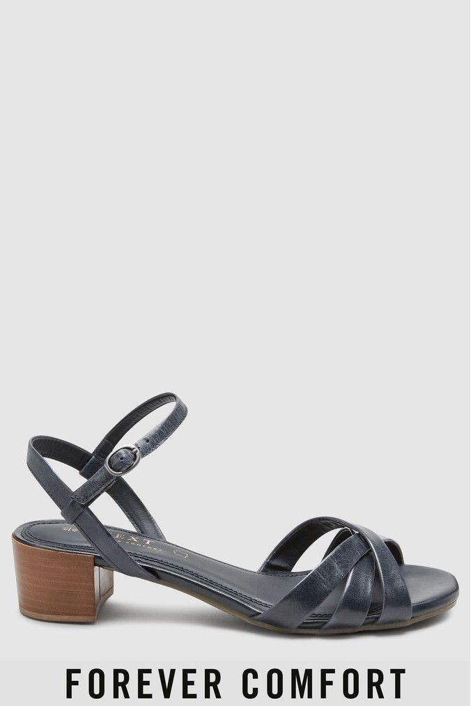 313283367d6 Womens Next Navy Forever Comfort City Sandals - Blue in 2019 ...