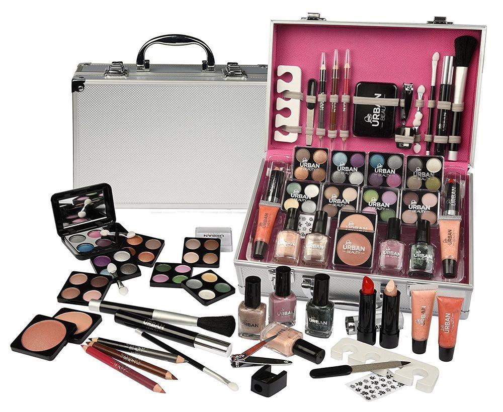 Maletin Profesional De Maquillaje 60 Accesorios Cosmetica Estetica Aluminio New Maletin Maquillaje Kit De Maquillaje Kit De Maquillaje Profesional