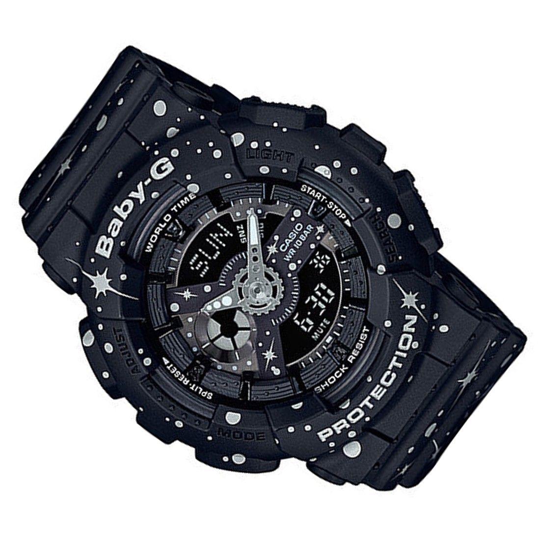 Ba 110st 1adr 1a Casio Baby G Digital Analog Watch Bga 185fs 7a