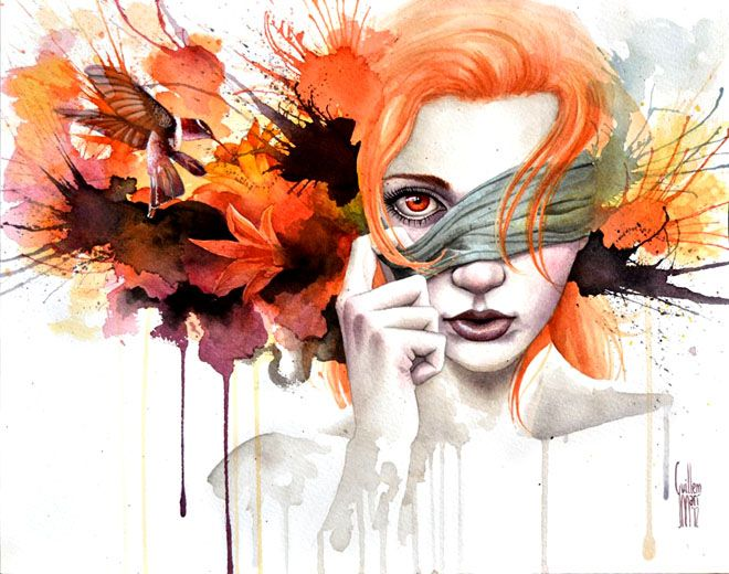 beautiful water color painting (webneel daily graphics inspiration