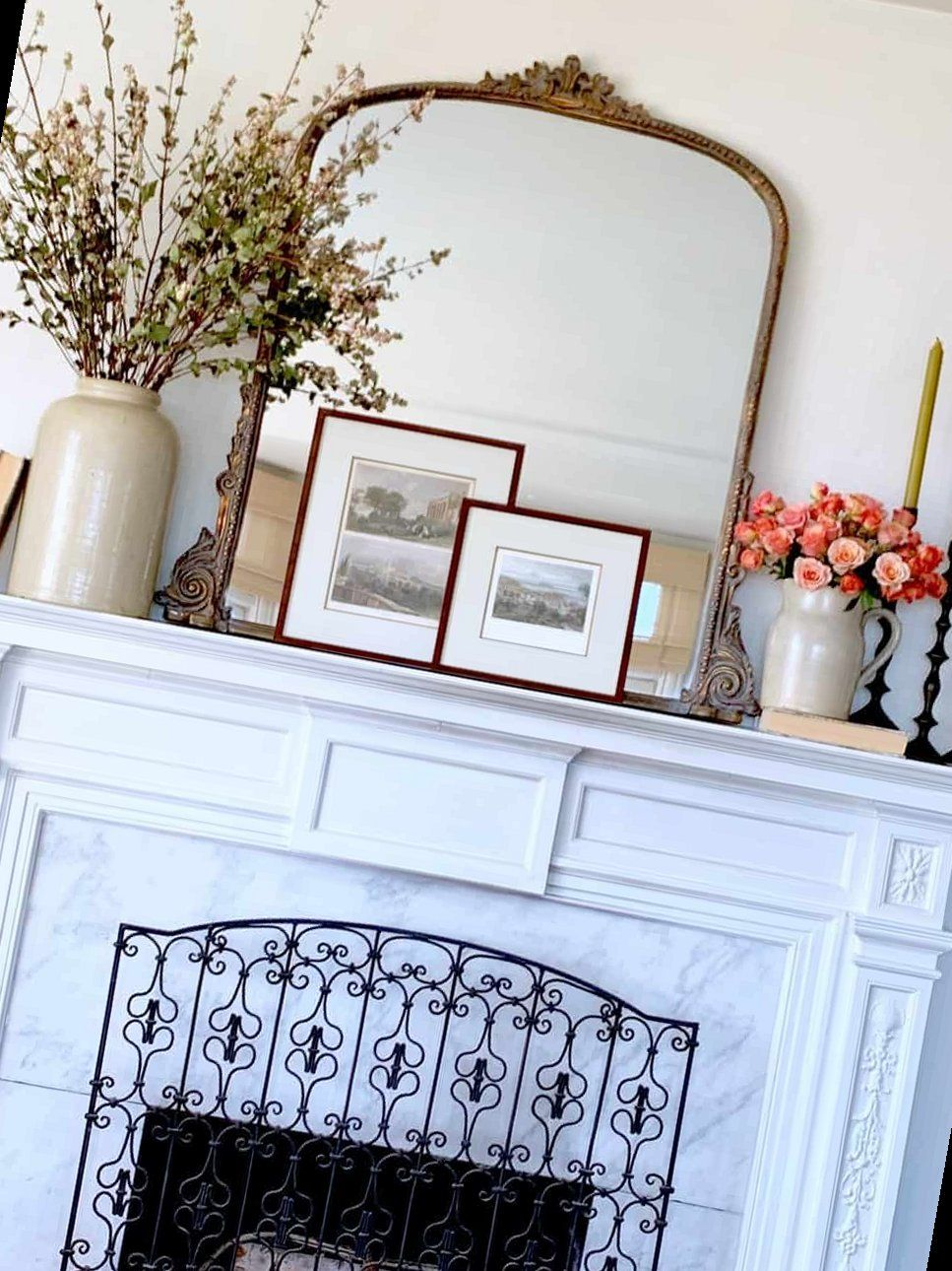 Photo of 40+ Fall Mantel Decorating Ideas To Try! – Classic Casual Home | Fireplace Decorations | 2020