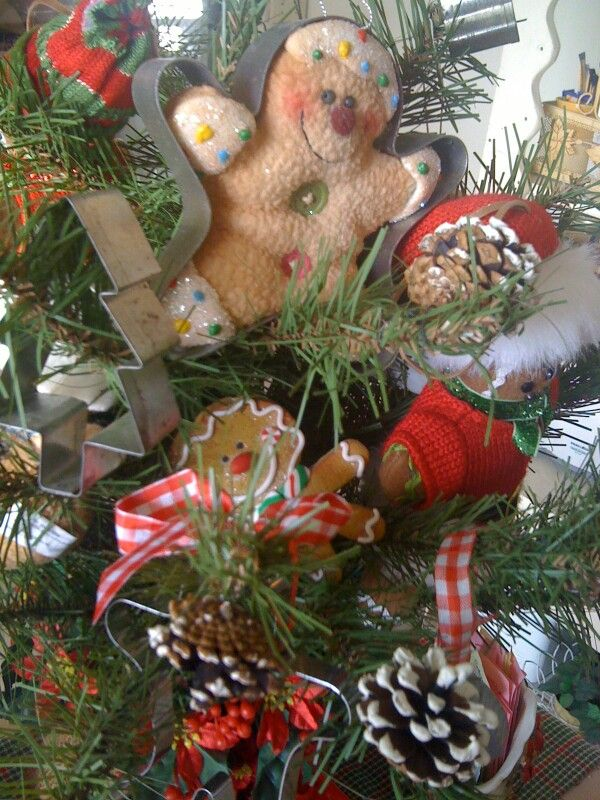 Cookie cutter tree O Christmas Trees Pinterest Cookie